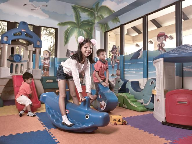 ママも大助かり! キッズスペース完備 Sofitel Krabi Phokeethra Golf & Spa Resort ソフィテル・クラビ・ポーキートラー・ゴルフ&スパリゾート