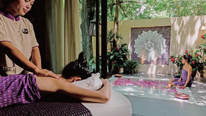 プラナスパで 日頃の疲れを癒やしましょう! The Tongsai Bay Ko Samui Thailand ザ・トンサイ・ベイ コ・サムイ・タイランド
