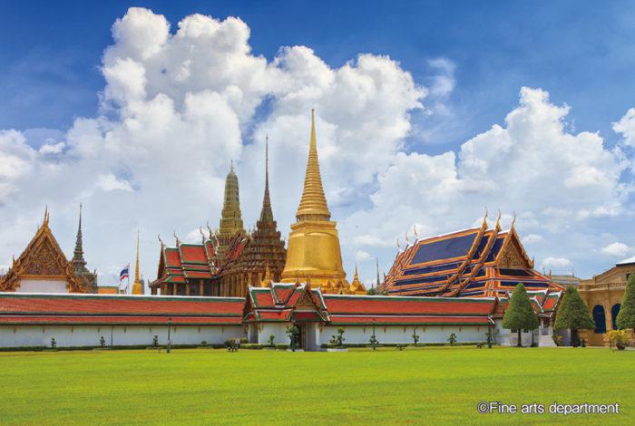 毎年4月6日は「チャクリー王朝記念日(タイ語でワン・チャクリー)」と呼ばれるタイの建国記念日です。