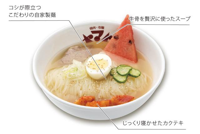 【焼肉・冷麺 ヤマト】冷麺  250B - ワイズデジタル【タイで生活する人のための情報サイト】