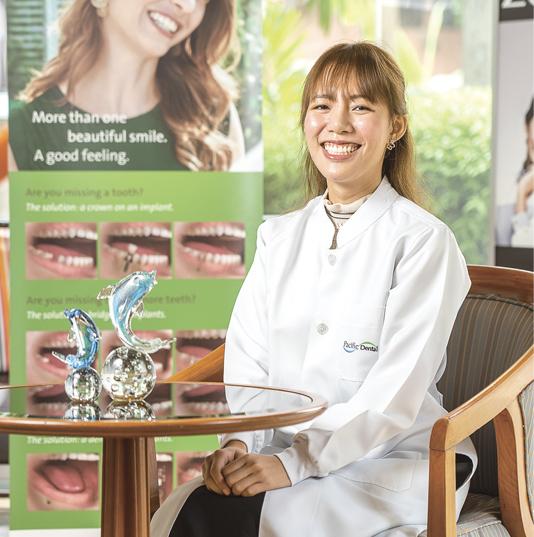 「歯のお悩みは何でもご相談ください」。常駐歯科医師のハタイラット先生