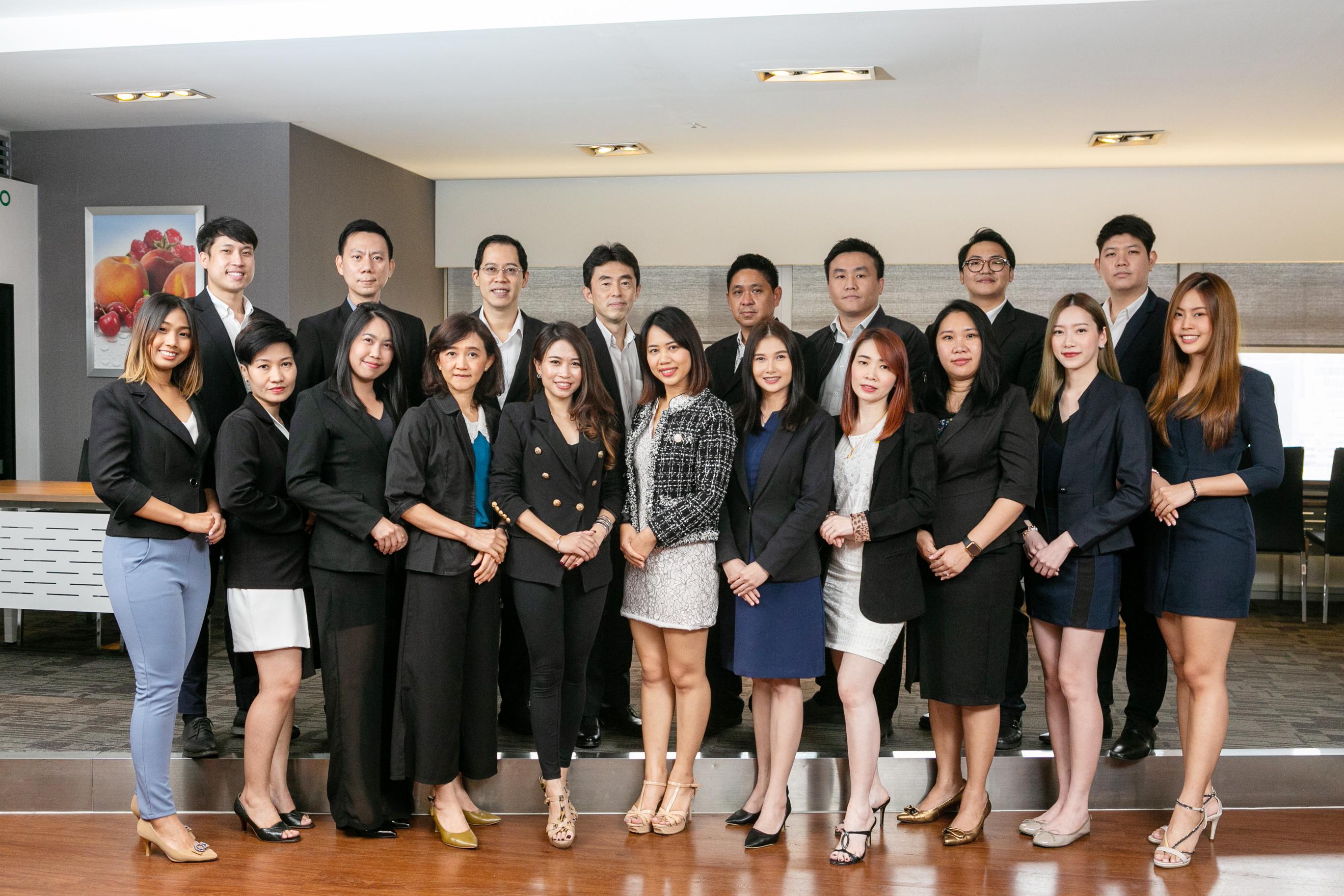 ビジネス経験豊富なタイ人スタッフ陣。セミナーや少人数に向けたワークショップ開催など、同社製品・サービスを周知する機会を増やしていくという