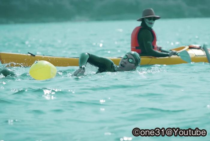 人は、時として限界を超えて挑戦しようとする生きものだ。トーノーさんが目指したのは、海を越えた82キロ先にあるサムイ島だった。