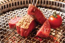 【シャトーブリアン 2,980B(160g)】生でも食べられる上質な肉は噛む必要がないほどに柔らかく、値段を凌駕する味わいだ