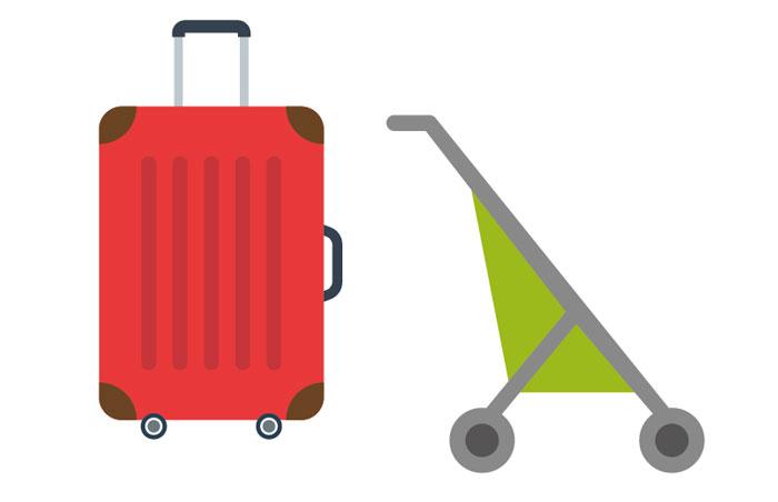 大きな荷物やベビーカーの場合 駅員に頼めば、改札脇のゲートを開けてもらえます。改札は狭いので、妊婦さんや小さな子ども連れ、大きな荷物を持っている時には利用しましょう。