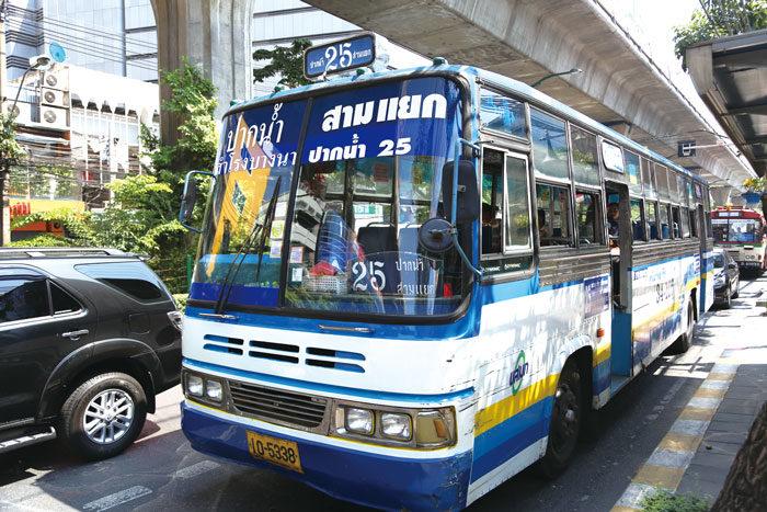 白バス(私営) 一律7.5B(夜間9B)、高速9.5B