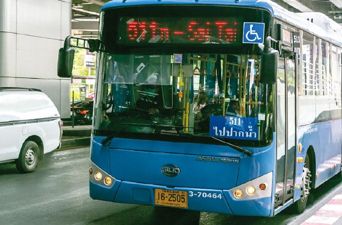 青バス(都営) エアコンつき。距離制で13〜26B