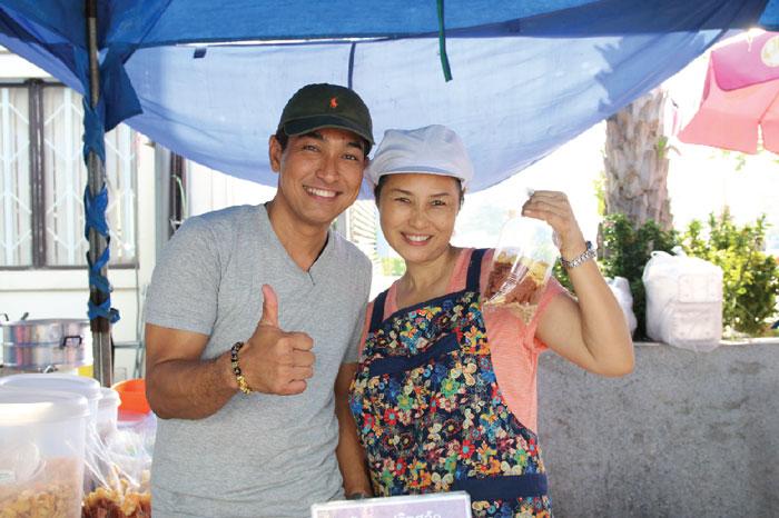市場に来ればタイの文化がわかるよ!