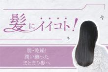 脱・乾燥! 潤い纏った まとまり髪へ  2,300〜2,800B(シャンプー込み)