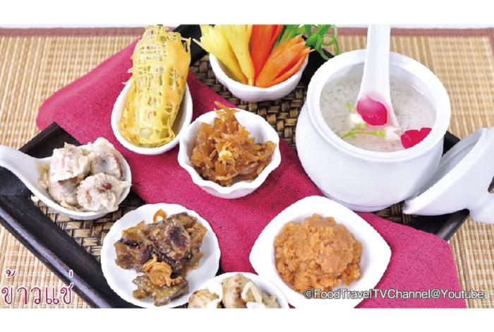 タイでもっとも暑い時期であるソンクラン(タイ旧正月)の頃に、涼をとる食べ物として古来より受け継がれてきた「カオ・チェー」。