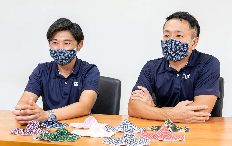 Masami Yamamoto, M.M., (ซ้าย) และ Motoki Kato, M.D. (ขวา)