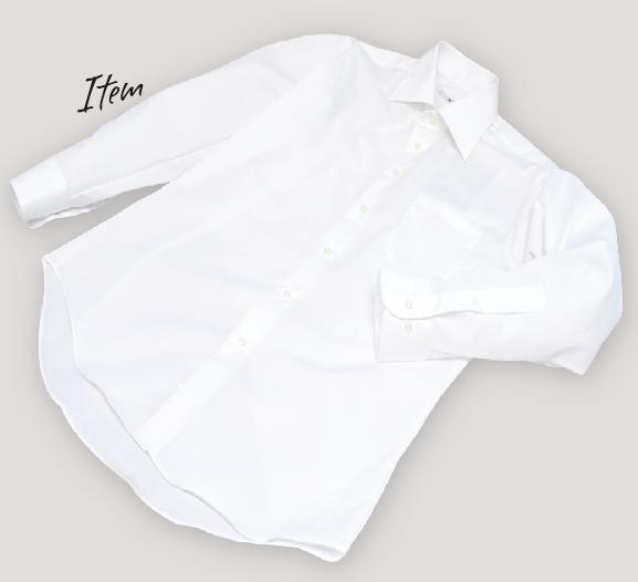 多彩なサイズとバリエーションを揃え、自分好みの1枚が見つかるスーツセレクトの人気白シャツ