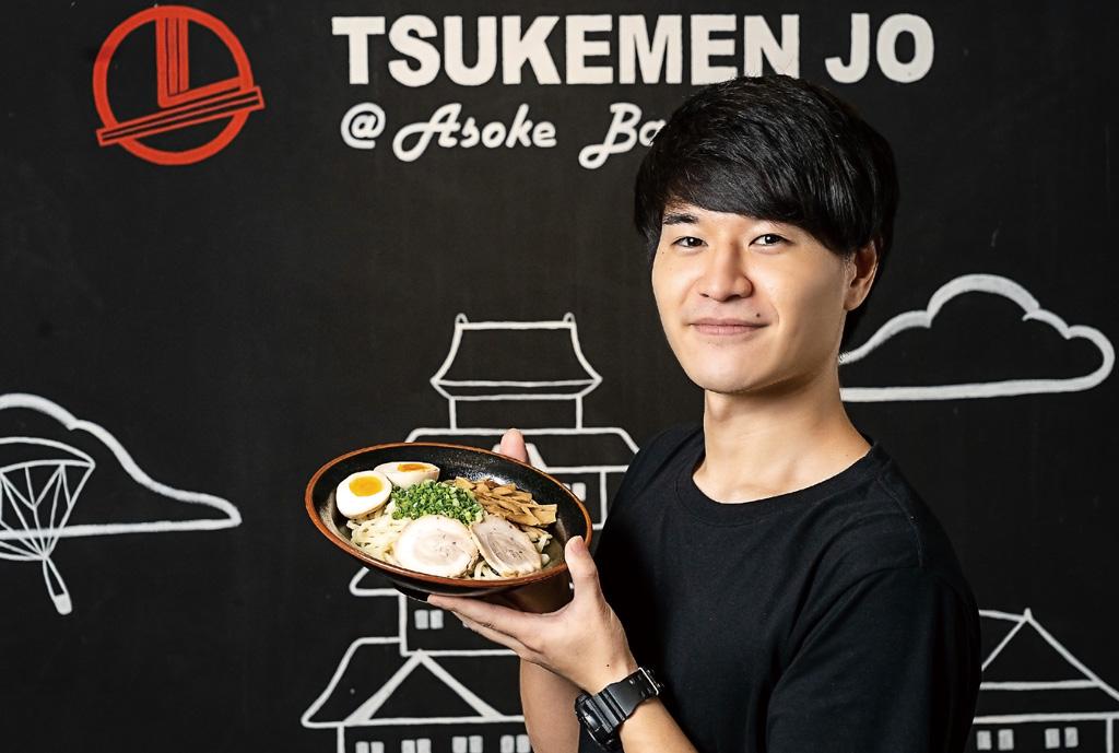 【つけ麺城】濃厚魚介つけ麺 - ワイズデジタル【タイで生活する人のための情報サイト】
