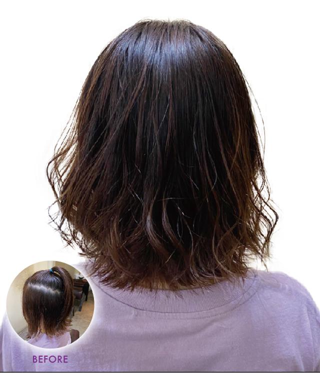 ヘアスタイル カラー(セット込み) - Hair Style Color with Hair set - 2,000B〜