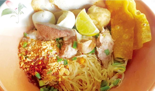 汁なしトムヤム中華麺 ・・・40B