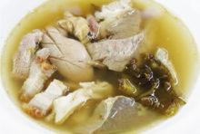 50年間変わらない秘伝のスープを堪能