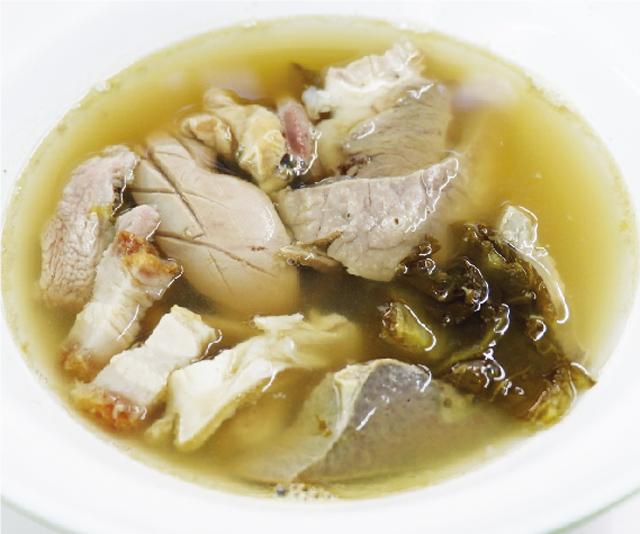 豚のモツスープ ・・・ 50B