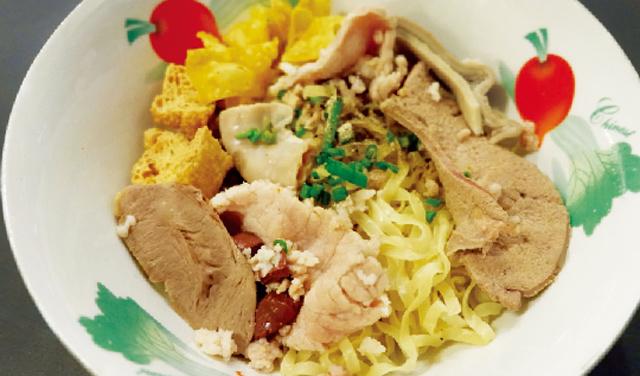 汁なし中華風麺 ・・・・ 45B
