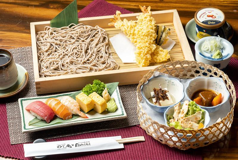 十割そば酒場 のじ庵 × 日本料理 Ashibi - ワイズデジタル【タイで生活する人のための情報サイト】