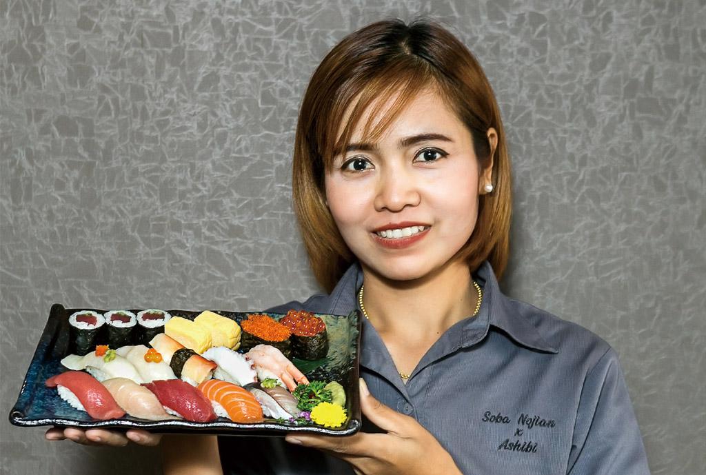【のじ庵 × Ashibi】握り寿司セットA - ワイズデジタル【タイで生活する人のための情報サイト】