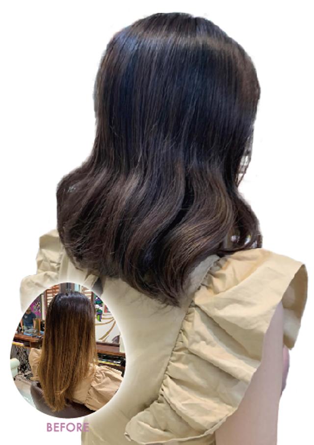 ヘアスタイル カラー - Hair Style Color - 底ダメージフルカラー 3,000B▶1,500B ※2020年7月末日まで