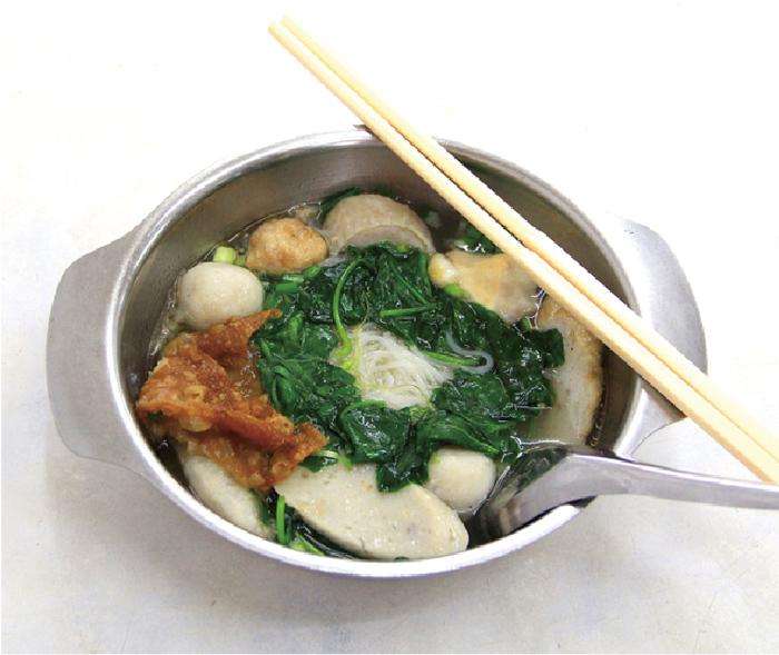 ヤサイカラスウリ入りの細麺 ・・・ 40B