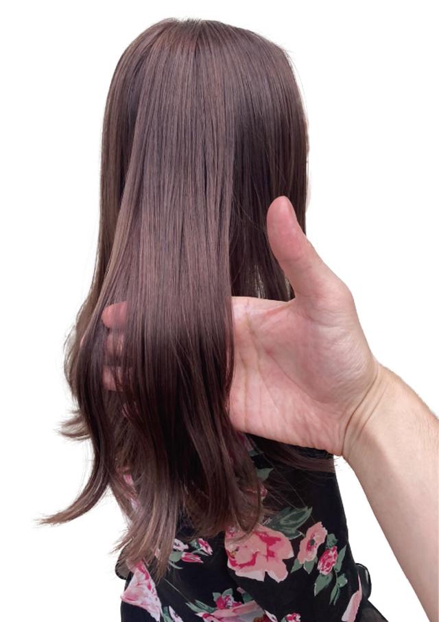 ヘアスタイル ラベージュカラー - Hair Style Labeige Color - 4,500B〜