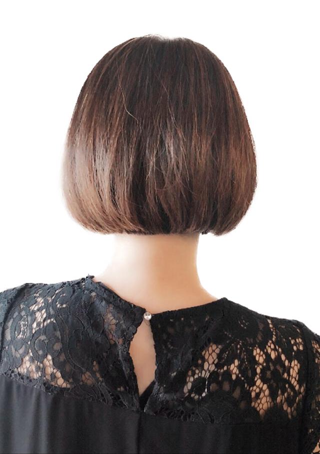 ヘアスタイル ナチュラルブラウン - Hair Style Natural Brown - 2,800B(白髪染めカラー+カット)