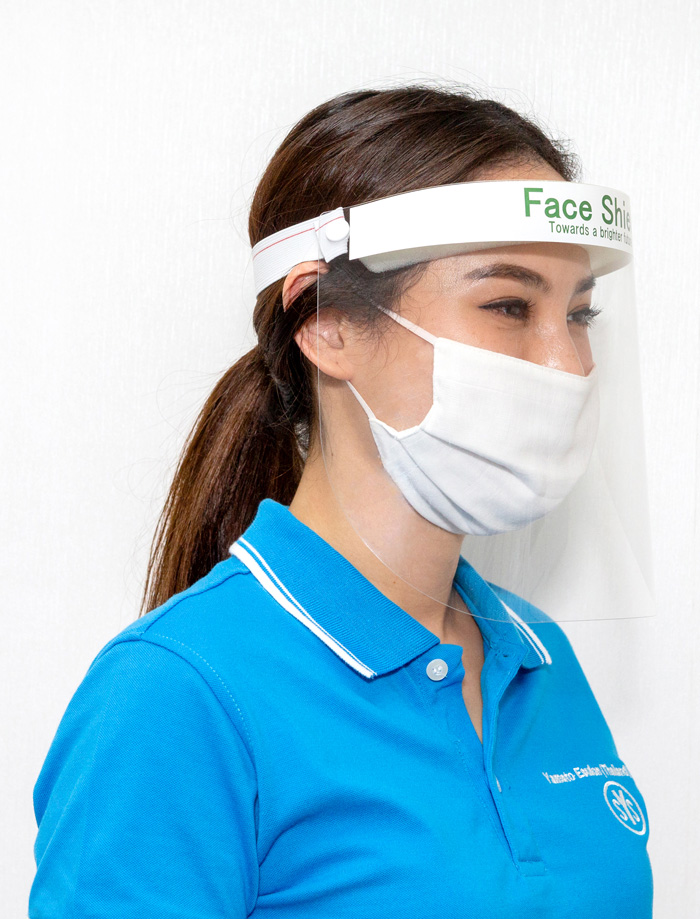 【ノーマルタイプ】顔の全体を覆うように装着