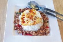 ユニークな創作タイ料理の数々を!