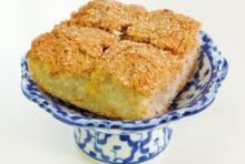 自然な甘さのタイ伝統菓子を