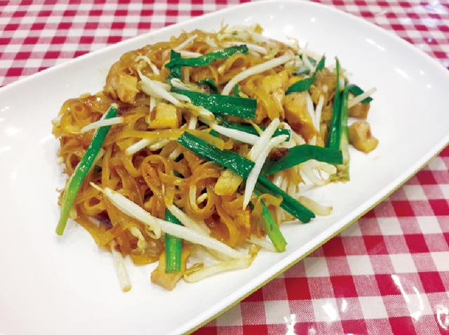 ナコーンラーチャシーマー県風の 炒め麺・・・45B