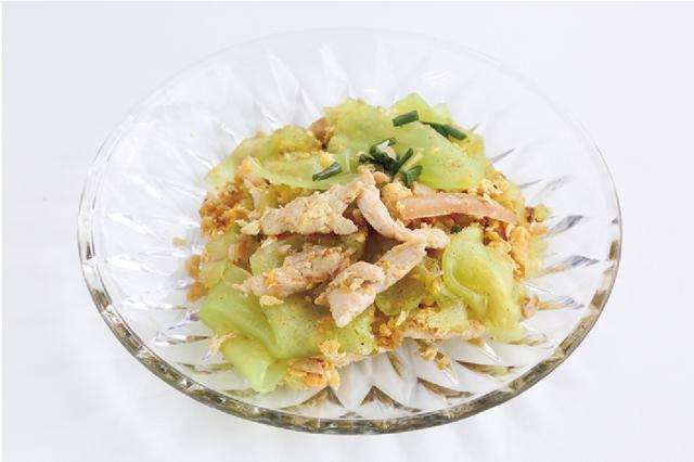 緑豆粉皮と鶏肉の炒め麺 ・・・65B