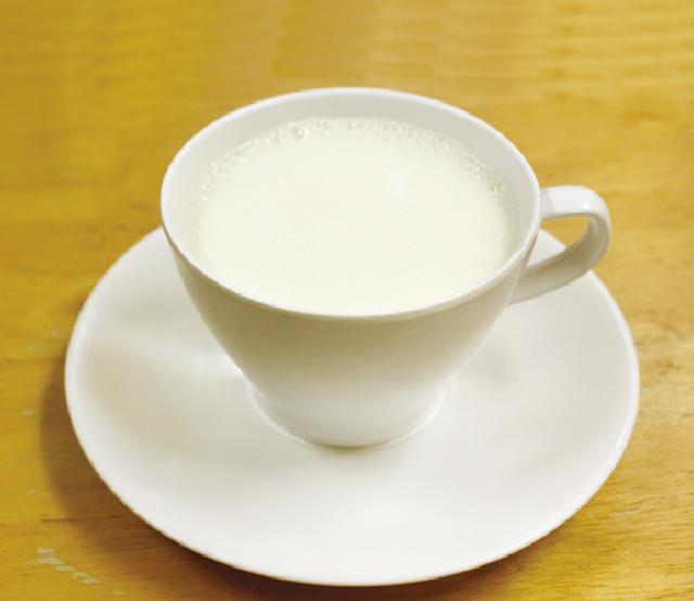 温かい牛乳 ・・・20B