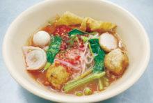 紅腐乳細麺と絶品スイーツが人気