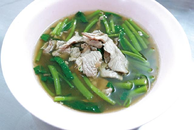 牛肉スープ ・・・80B