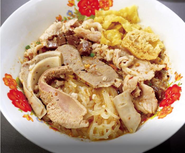 トムヤムスープの細麺 ・・・49B
