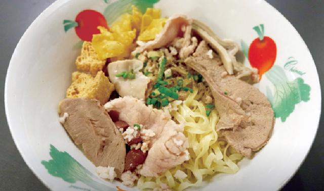スープなし中華風麺 ・・・49B