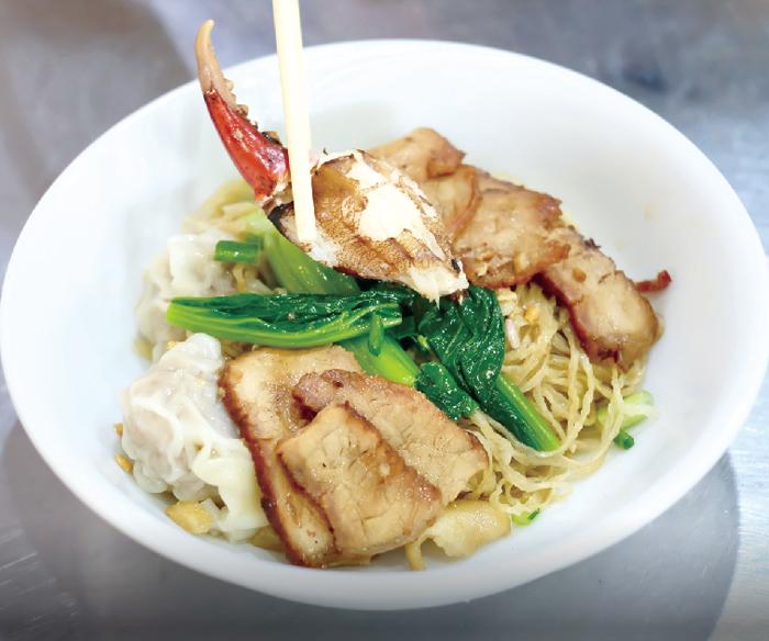 必食! カニ爪入り贅沢ワンタン麺 - ワイズデジタル【タイで生活する人のための情報サイト】