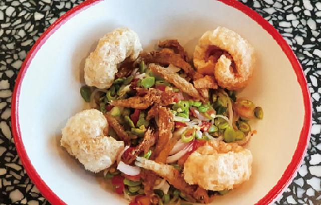 タイ風米粉麺のスパイシーサラダ ・・・88B