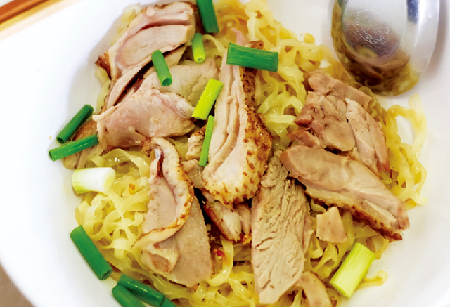 鴨肉入り 中華風汁なし麺・・・・ 60B