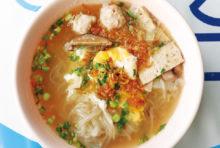 卵入りベトナム風米麺 ・・・55B