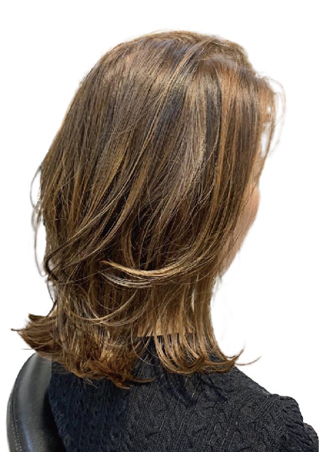 ヘアスタイル ハイライト&ローライト・前頭カラー - Hair Style Non-bleach High-light - 1,500B・2,500B