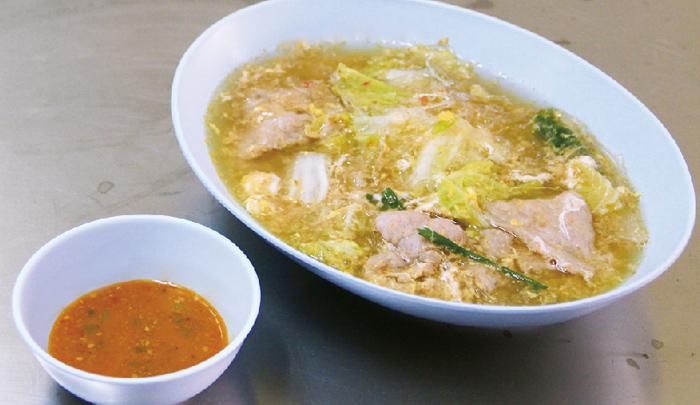 豚肉入り春雨スープ ・・・50B