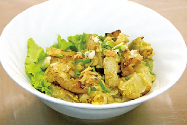 太麺と鶏肉の炒め物 ・・・40B