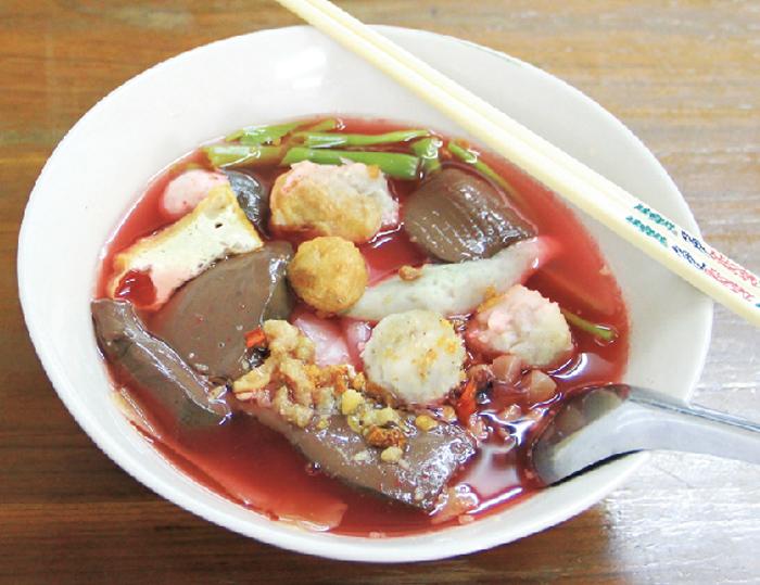 紅腐乳太麺 ・・・55B