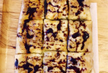 チョコレートソースとバナナのロティ ・・・・・ 80B