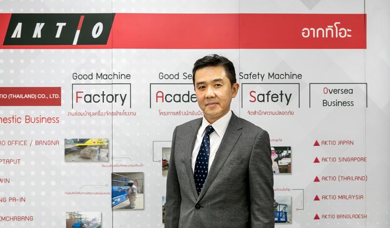 「感染リスク低減に少しでも貢献し、このシステムの可能性をさらに拡大していきたいですね」。Samithi Vorasatit Okura(Thailand) International Division Director