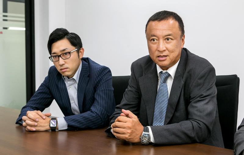「現在、セントラルグループのホテル37カ所への導入が決まっています」。続麻貴士 株式会社大倉 国際部顧問