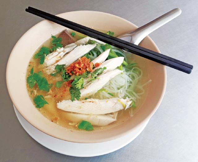 スープありチキンヌードル ・・・45B